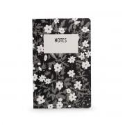 Design Letters - AJ Vintage Flowers Notizbuch, L