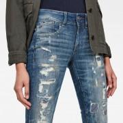 G-Star RAW Lynn Mid Waist Skinny Restored Jeans - 27-28
