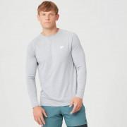 Myprotein Performance tričko s dlouhým rukávem - XXL - Silver Marl