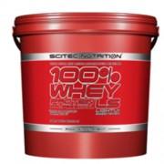 100% Whey Protein Professional 5000g mogyorós csoki Scitec Nutrition