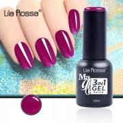 Oja semipermanenta Magic 3in1 Gel Lila Rossa Professional 10ml F30163