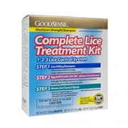COMPLETE LICE TREATMENT KIT (3-Step Lice Control System)