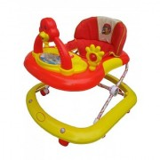Oh Baby Baby Adjustable Musical With Light Square Tweety Play Tray Shape Red Color Walker For Your Kid SE-W-63