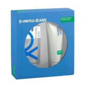 Benetton B United Jeans Man Gift Set-EDT 100ml + Shower Gel 200ml за мъже