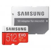 Cartão de Memória MicroSDXC Samsung Evo Plus MB-MC512GA/EU - 512GB
