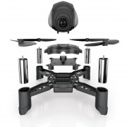 Drone Quadcopter DIY S7 0.3MP WIFI-Negro + Plata