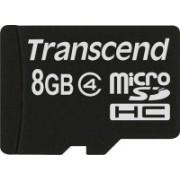 Transcend 8 GB MicroSDHC Class 4 Memory Card