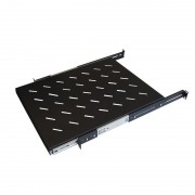 WP Four mounting ears sliding shelf for 600 depth racks WPN-ASS-141060-B