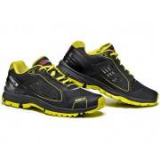 Sidi Approach Zapatos Negro/Amarillo 48