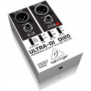 Behringer DI20 UltraDI Direct Box Behringer DI20 Ultra-DI