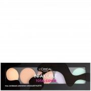 L'Oréal Paris Paleta correctora Infallible Total Cover de