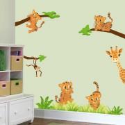 Stickere perete copii Tigrisori - 110 x 105 cm