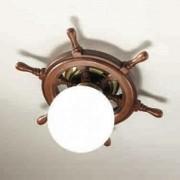 Timone ceiling light, spherical glass white