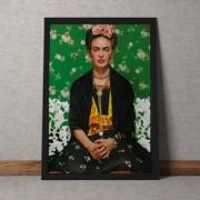 Quadro Decorativo Frida Kahlo 35x25