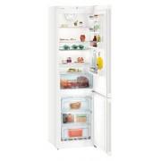 Combina frigorifica Liebherr CN 4813, 338 L, No Frost, Display, Control taste, Raft sticle, Alarma usa, H 201.1 cm, A++, Alb