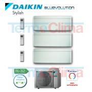 Daikin Climatizzatore Condizionatore Trial Split ( 3mxm40m ) Parete Inverter Blu