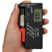 Onloon Negro BT-168D Digital Probador Comprobador De Pila Batería Portátil Voltios Para Batería De Botón AAA AA 9V 1.5v