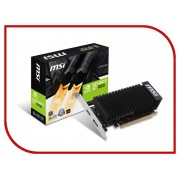 Видеокарта MSI GeForce GT 1030 1265Mhz PCI-E 3.0 2048Mb 6008Mhz 64 bit DisplayPort HDMI HDCP GT 1030 2GH LP OC