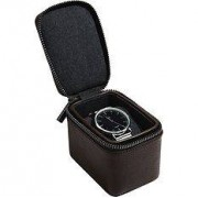 Stackers Travel watch box for single chamber bronze watches