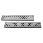 Wall Control 30-GS-0332 GV Metal Strip Galvanized Pegboard Rails, 32