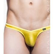 Mategear Ran Nam II Tapered Sides V Front Half Back Ultra Pouch Bikini Swimwear Sparkling Gold/Yellow 1481002