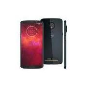 Smartphone Motorola Moto Z3 Play XT1929 Índigo com 64GB, Tela 6'', Dual Chip, Câmera Traseira Dupla, Android 8.1, Processador Octa-Core e 4GB de RAM