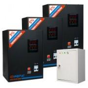 Трехфазный релейный стабилизатор напряжения Энергия Voltron 24000 (HP)