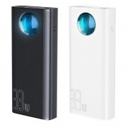 Baterie externa, powerbank, Baseus Ambilight 30.000 mAh, Power Delivery 3.0 Compliant, 4 x Porturi USB & 1 x USB-C PD