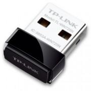 Мрежови адаптер TP-Link TL-WN725N, 150Mbps, Wireless-N/G/B, Nano USB Adapter, ултра-компактен