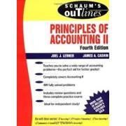 Schaum's Outline of Principles of Accounting II, Paperback/Joel J. Lerner
