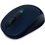 Mouse, Microsoft SCULPT MOBILE E74, USB, Wool Blue (43U-00013)