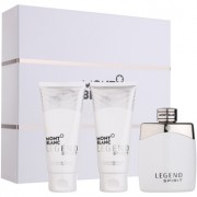 Montblanc Legend Spirit lote de regalo I. eau de toilette 100 ml + gel de ducha 100 ml + bálsamo after shave 100 ml