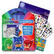 PJ Masks Large Stickers Activity Set Bundled with Specialty Separately Licensed GWW Reward Sticker