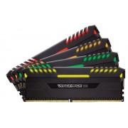 Memorie Corsair Vengeance RGB, 4x8GB, DDR4, 3333 MHz