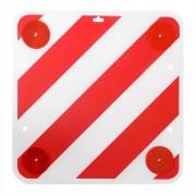 ProPlus предупредителен знак от пластмаса и светлоотражатели 50x50 см