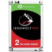 Seagate Disque dur 3.5 Seagate Iron Wolf Pro - 2 To