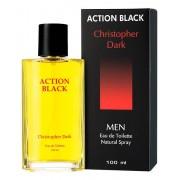 Christopher Dark Action Black Men Woda Toaletowa 100ml