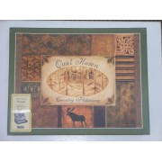 Quiet Haven Country Hideaway 500 Piece Puzzle Woodland Lodge