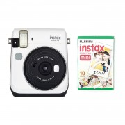 Fujifilm Instax Mini 70 Camera with 10 Shots White