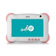 TABLET GHIA 7 KIDS/QUADCORE/1GB/8GB/2CAM/WIFI/ANDROID 8.1 GO EDITION/BLANCA CON ROSA