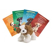 Story Book and Stuffed Animal Set for Children Toy Gift Sets: 4 Puppy Love Books with a Dog Plush for Girls, Boys, Children. Plush and Book Toy Sets for Dog Lovers