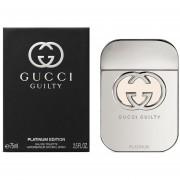 Gucci Guilty Platinum 75 Ml Eau De Toilette Spray De Gucci