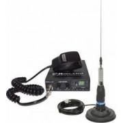 Kit statie radio CB Midland Alan 100 + Antena Midland ML145 cu magnet 120pl