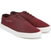 Slazenger CLASSIC OX Canvas Shoes For Men(Maroon)