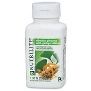 Amway Nutrilite Siberian Ginseng With Ginkgo Biloba (100 Tablets)