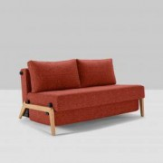Innovation Cubed 140 Schlafsofa B: 1470 H: 670 T: 960 mm, eiche/burned orange 95-744001524-5-2