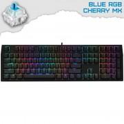 Ducky Shine 7 Blackout Геймърска механична клавиатура с Cherry MX Blue суичове