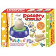 JGG Jain Gift Gallery Pottery Wheel Kit for Kids to Sculpt and Create Ceramic Vases Pots