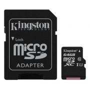 Kingston microSDXC + SDXC 64GB (Class 10)