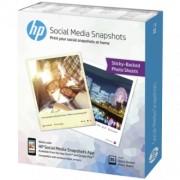 HP papir Social Media Snapshots Removable Sticky Photo - W2G60A